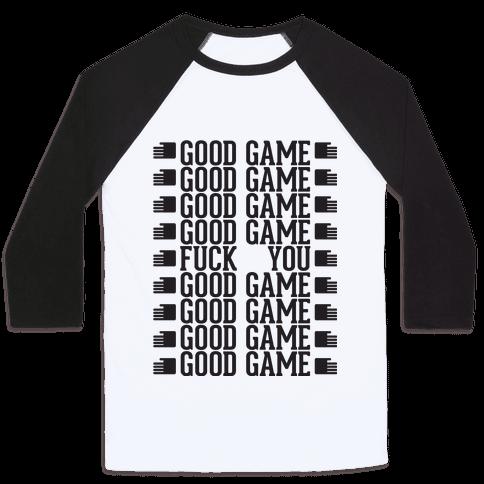 Good Game Baseball Tee
