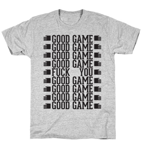 Good Game Mens T-Shirt