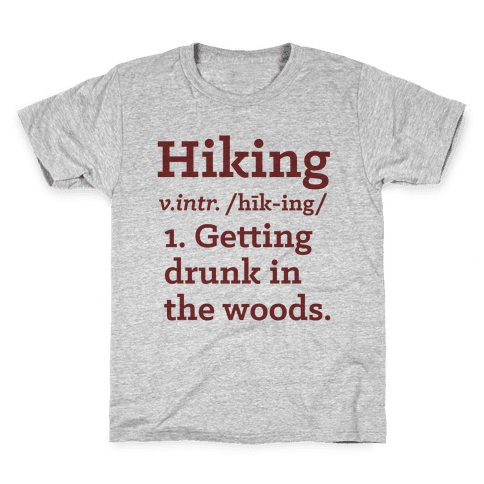 Hiking Definition Kids T-Shirt
