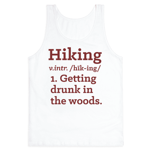 Hiking Definition Tank Top