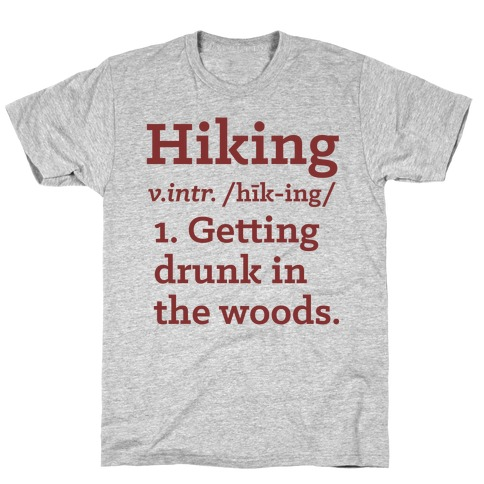 Hiking Definition T-Shirt