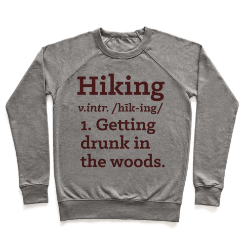 Hiking Definition Pullover