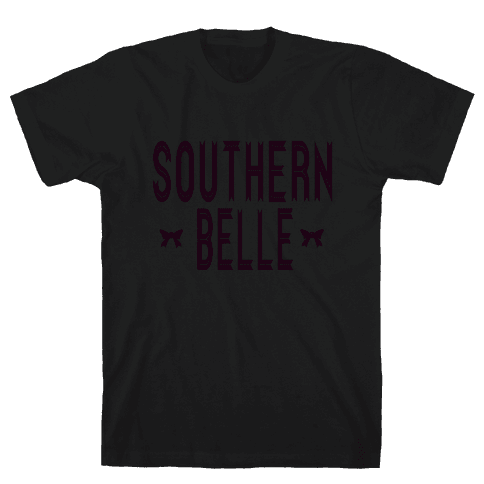 Southern Belle (Dark Tank) Mens T-Shirt
