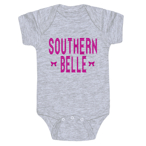 Southern Belle (Dark Tank) Baby Onesy