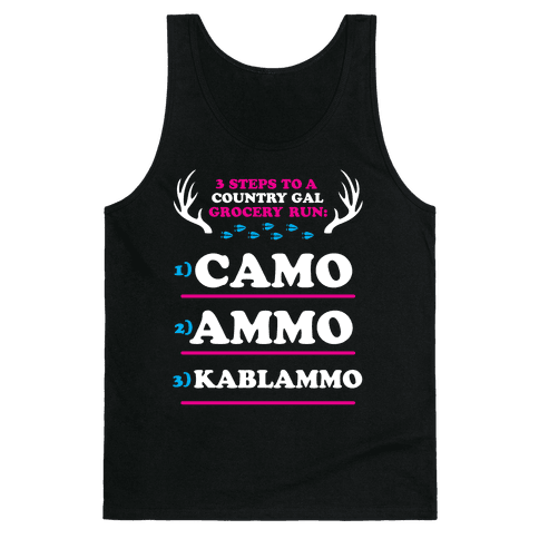 Country Gal Grocery Run Tank Top