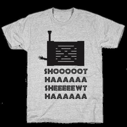 Shoot Her Mens T-Shirt