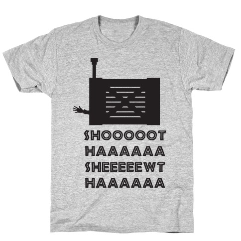 Shoot Her Mens T-Shirt