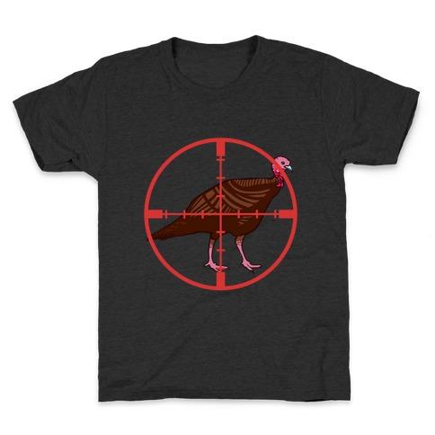 Crosshair Turkey Kids T-Shirt