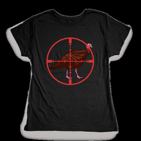 Crosshair Turkey Womens T-Shirt