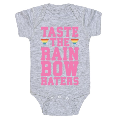 Taste The Rainbow Baby Onesy