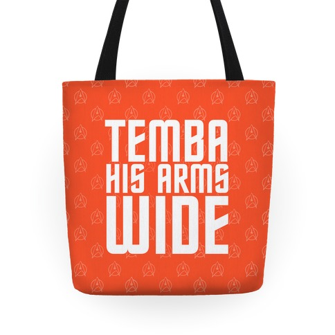 Temba His Arms Wide Tote