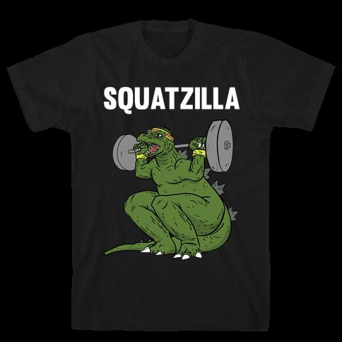 Squatzilla Mens T-Shirt