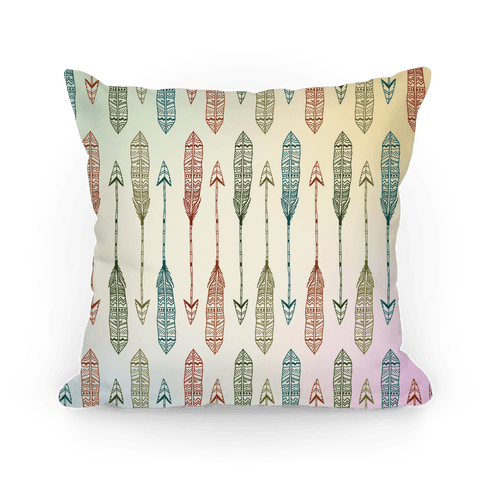 Aztec Arrows Pillow