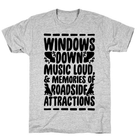 Roadside Attractions Mens T-Shirt