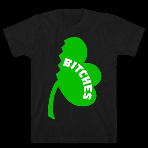 Luckiest Bitches Pt. 2 Mens T-Shirt