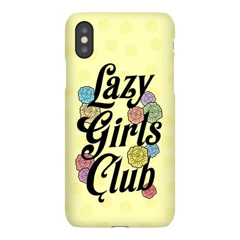 Lazy Girls Club Phone Case