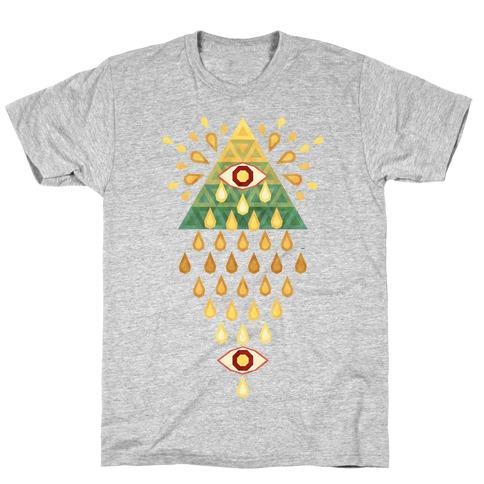 All-Seeing Summer Rainfall T-Shirt