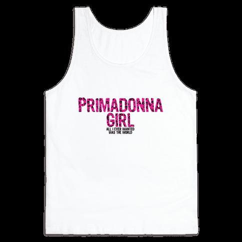 Primadonna Girl Tank Top