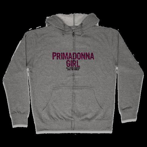 Primadonna Girl Zip Hoodie