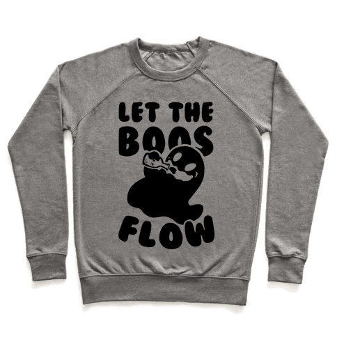 Halloween- Let the Boos Flow! Pullover