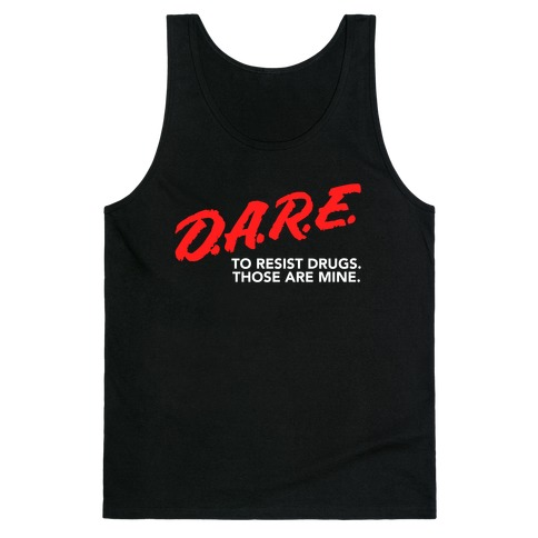 DARE Parody Tank Top