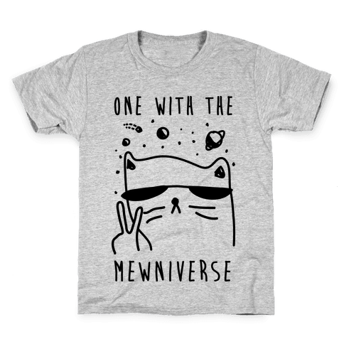 One With The Mewniverse Kids T-Shirt