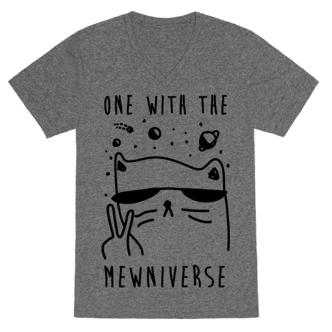 One With The Mewniverse V-Neck Tee Shirt