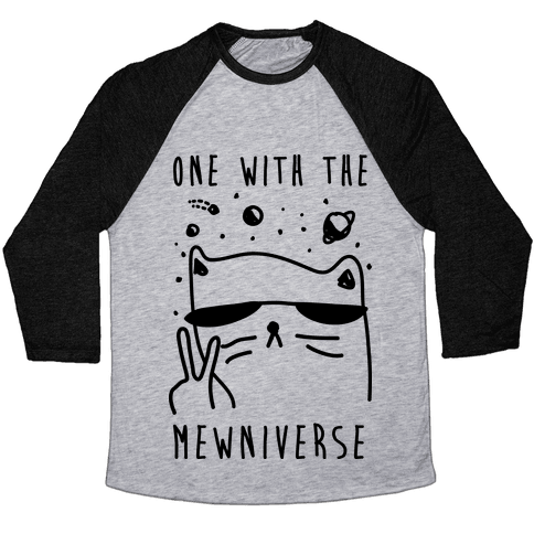 One With The Mewniverse Baseball Tee