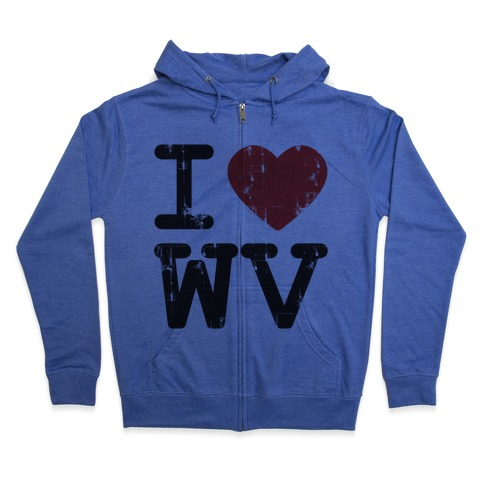 2185e9bd9bc I Love West Virginia Hoodie