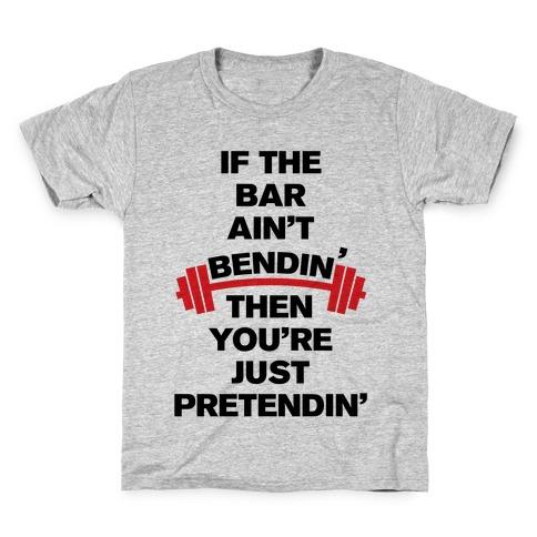 Bar Bendin' Kids T-Shirt