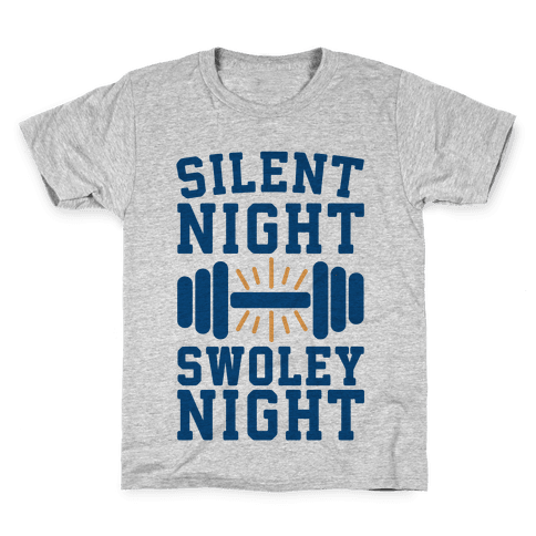 Silent Night Swoley Night Kids T-Shirt