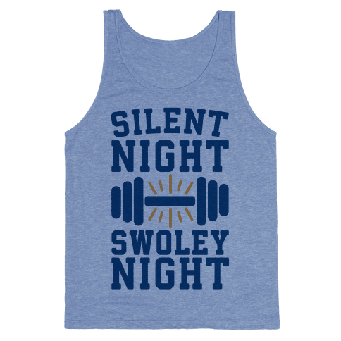 Silent Night Swoley Night Tank Top