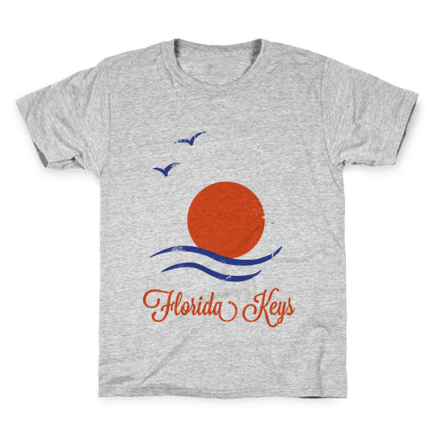 Florida Keys (Vintage) Kids T-Shirt