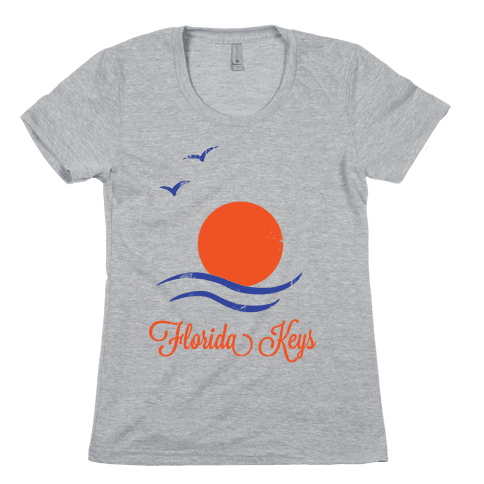 Florida Keys (Vintage) Womens T-Shirt