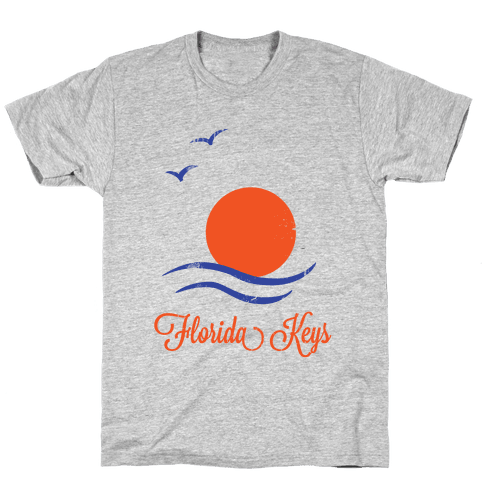 Florida Keys (Vintage) Mens T-Shirt