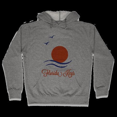 Florida Keys (Vintage) Hooded Sweatshirt