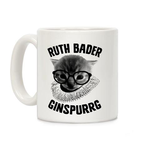 Ruth Bader Ginspurrg Coffee Mug
