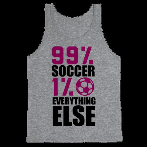 99% Soccer Tank Top