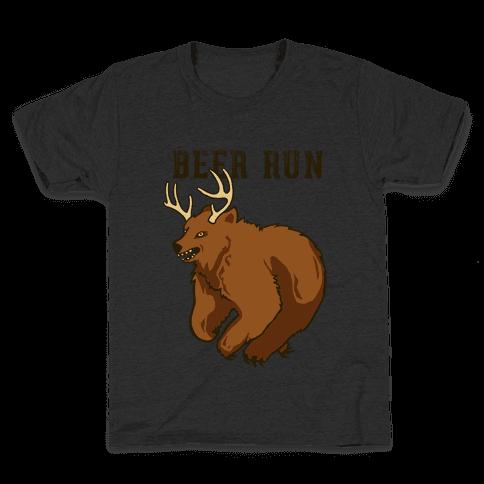 Beer Run Kids T-Shirt