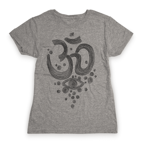Om And Eye Womens T-Shirt