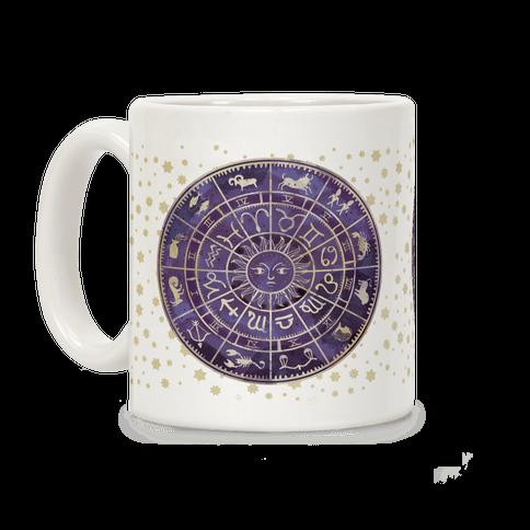 Zodiac Calendar Coffee Mug