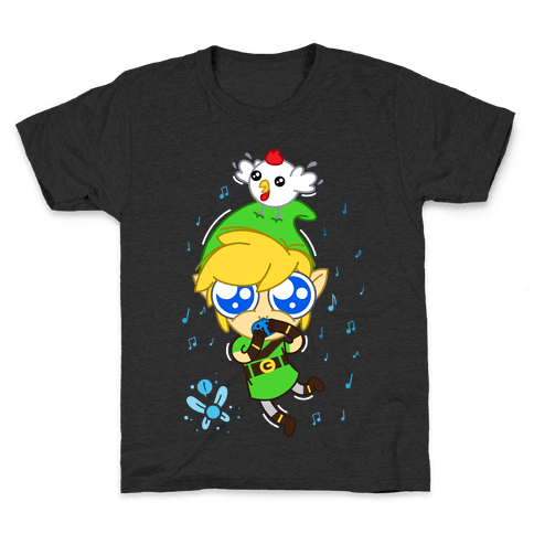 Chibi Link Kids T-Shirt