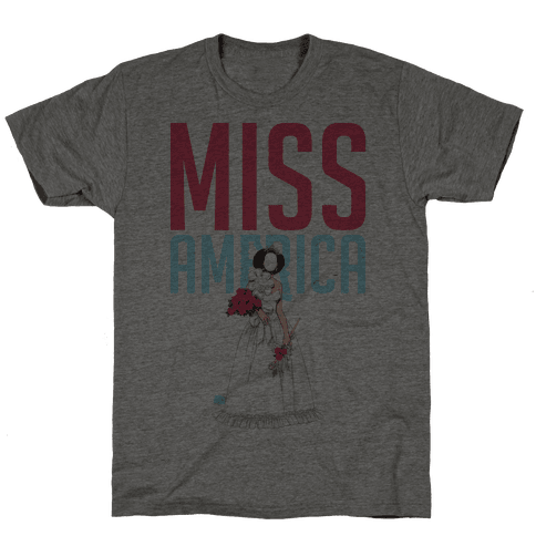 Miss America Paper Doll Mens T-Shirt