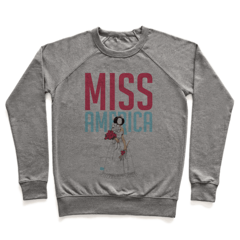 Miss America Paper Doll Pullover