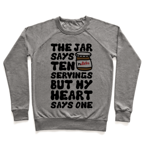 Nutella Servings Of The Heart Pullover