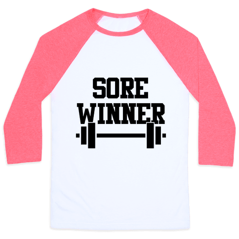 Sore Winner Baseball Tee