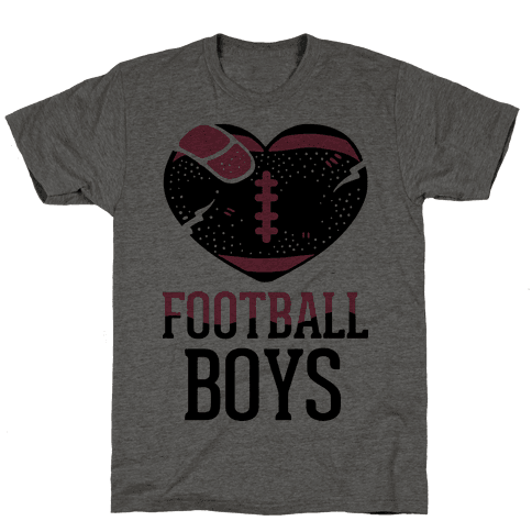 Football Boys Mens T-Shirt