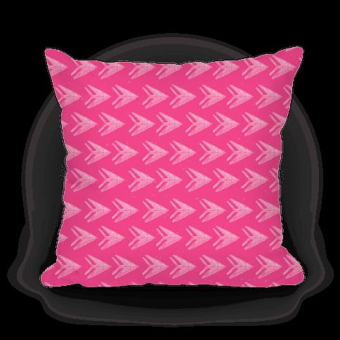 Pink Watercolor Arrow Pattern