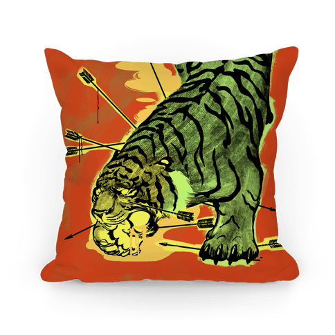 Wild Tiger Pillow