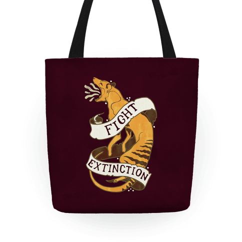 Fight Extinction Tote